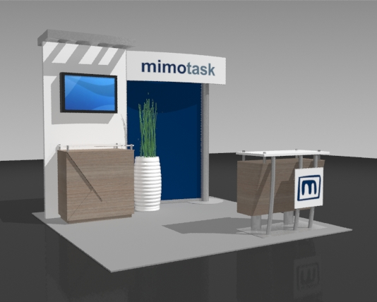 10 Foot Portable Trade Show Booths Displays Exhibits