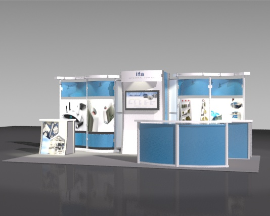 10x20 Linear Trade Show Exhibits And Rooms Ma Nh Me Ri