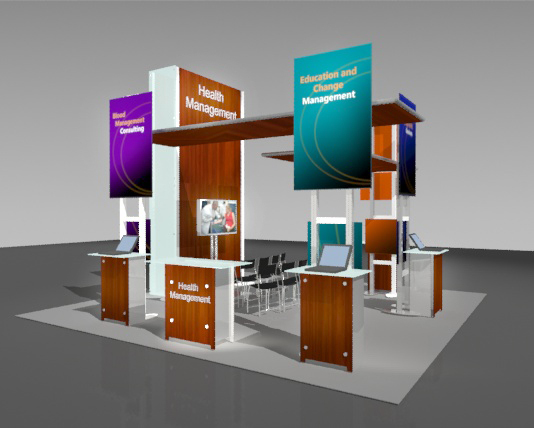 Trade Show Exhibit Rentals Can Provide High Quality Creative Designs And Customization Services