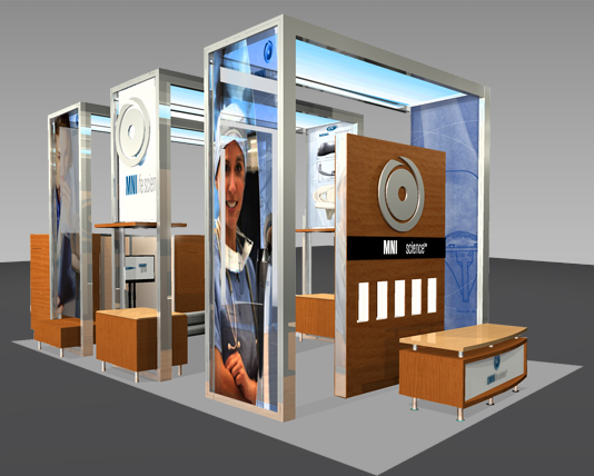 20x20 & larger displays ma, full-scale custom modual displays, exhibit trade show booth, trade show booth, Boston, MA, Island exhibit