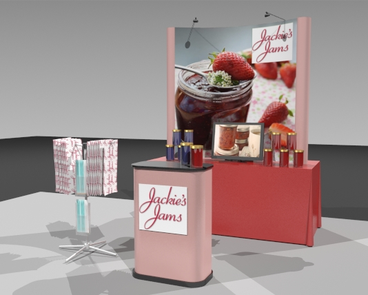 tabletop exhibit displays ma,